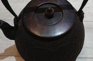 鉄瓶 龍文堂