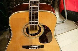 YAMAHAフォークギター