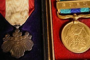 戦時中 勲章