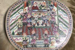 壺 中国漢の時代